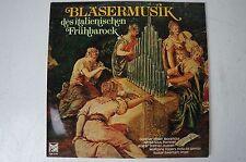 Bläsermusik des italienischen Frühbarock Günther Höller Blockflöte Ewerhart LP47