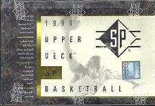 1996 Upper Deck SP Factory Sealed Basketball Hobby Box   .