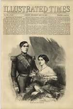 1858 rey y reina de Portugal revuelta Lord Canning y gobierno indio