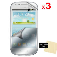 3x Screen Protector for Samsung Galaxy S3 Mini I8190 Clear Film