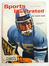 1962 JOHN HOPKINS LACROSSE GOALIE JERRY SCHMIDT Sports Illustrated VERY GOOD