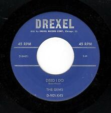KILLER CHICAGO DOO-WOP-GEMS-DREXEL-901-DEED I DO/TALK ABOUT THE WEATHER