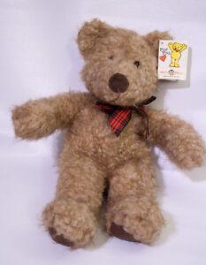 Mary Meyer Christabelle Brown Scruffy Teddy Bear Plush Animal Vintage 1997