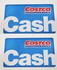 2pcs Costco Collectible Wholesale Gift Cash Card Zero Balance- ($0) Empty Enter For Sale