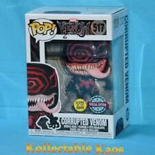 Venom - Corrupted Venom Glow in the Dark Pop! Vinyl Figure (RS) #517 + Protector