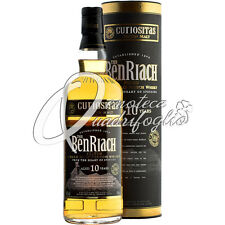 BENRIACH CURIOSITAS SCOTCH WHISKY SINGLE PEATED MALT 10 YEARS OLD ASTUCCIATO