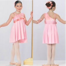 Dance Costume TIME TO DREAM  Lyrical Ballet Dress Adult Large New Competition