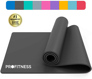 NOW ONLY £5.99! ProFitness Non-Slip Yoga Mat for Pilates Yoga Gym Exercise