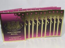 Juicy Couture Hollywood Royal Women's Eau de Toilette .05 fl oz TEN Samples