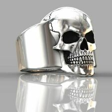 Ring Fashion Metal Accessories Jewelry Skull Ring Men's Gothic Personality Punk