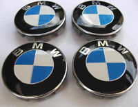Centre roue BMW,  4 cache centres de roue BMW 68mm, envoi rapide SUIVI