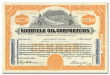 Richfield Oil Corporation Stock Certificate