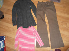 Womens size 10 clothes bundle trousers top jumper Mexx Papaya F&F