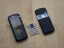 Original Nokia 6080 komplett Cover | Akkudeckel | Tastatur in Schwarz Silber NEU