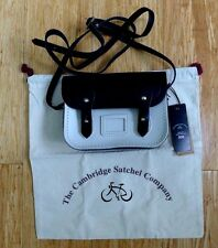 Cambridge Satchel Company PopSugar Small Navy White Bag Handbag Purse NWT $95