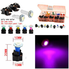 30 Sets 12V Car Dash Light T5 Panel Instrument Cluster Plug Mix LED Lights Bulb
