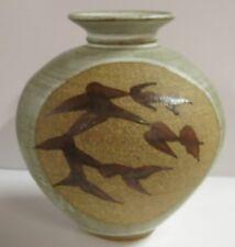 Studio Pottery Vase ?M Florida Ceramic Art