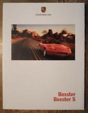 PORSCHE BOXSTER & BOXSTER S orig 1999 USA Mkt Sales Brochure