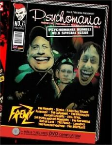 PSYCHOMANIA Magazine Issue 7.5 + DVD - psychobilly fanzine, Frenzy, Meteors etc