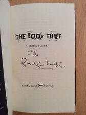 SIGNED Dated Doodled - The Book Thief by Markus Zusak HC 1st/1st Print + Pic