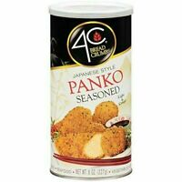 4C Japanese Style Panko Seasoned Bread Crumbs