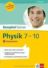 KomplettTrainer Physik 7.-10. Klasse. Gymnasium von Dorn... | Buch | Zustand gut