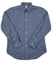 Brooks Brothers Mens Original Polo Shirt Blue Long Sleeve Button Down Medium