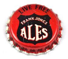 Frank Jones ALES LIVE FREE bière brassage capsules USA SODA BOUTEILLE casquette