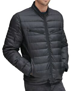 Marc New York Mens Jacket Black Size Large L Grymes Packable Puffer $275 #056