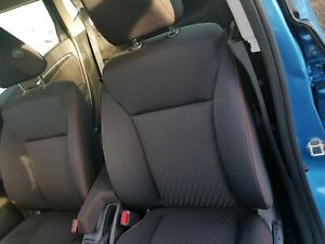2018 HONDA JAZZ N/S PASSENGER SIDE FRONT INTERIOR SEAT (RED STITCHING)