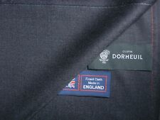 Dormeuil 100% Lana Suiting Tessuto Superfine in Antracite-Made in England - 3.4 M