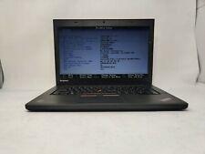 New listing Lenovo Thinkpad T450 Intel i5-5300U, 2.30Ghz 8Gb Ram 480Gb Ssd No Os No Batt