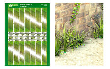 J's Work 1/24,1/35,1/48 Typical Grass 1 (Coloured Paper Plant kit)