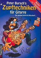 Peter Bursch's Zupftechniken für Gitarre (+CD)  (Noten und Tab)