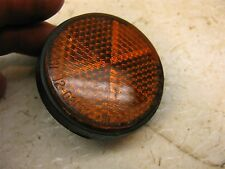 1977 kawasaki kz200 orange reflector k404~