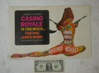 Feldman James Bond Casino Royale 1967 Pressbook 11x17 David Niven Peter Sellers