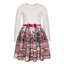 Monnalisa  ♥ St. School Neoprene Kleid  ♥ Gr. 152 ♥ NEU ♥