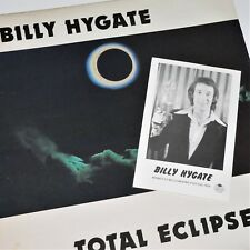 BILLY HYGATE - TOTAL ECLIPSE - EX- 1979 Signed LP - Cruise Ship - GEORGE YOUNG