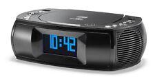 Karcher UR 1309D CD-Radiowecker mit DAB+ / UKW Radio - Wecker (Dual-Alarm) - USB