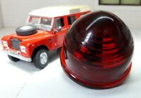 Lucas Repro L594 Rear Stop Tail Red Light Glass Lens Land Rover Series 2 2a