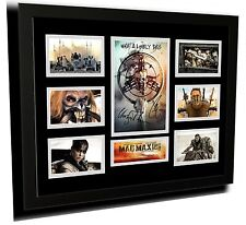 MAD MAX FURY ROAD CHARLIZE THERON SIGNED LIMITED EDITION FRAMED MEMORABILIA