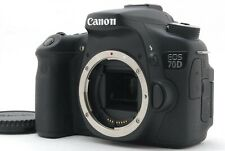 【Mint】Canon EOS 70D 20.2MP Digital SLR Camera Black Body Only From Japan #796