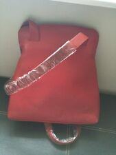 Leonhard Heyden Women's Oslo City Shopper Red 2203.005 Leather Bag Rrp £230