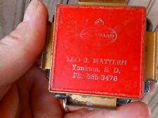 Standard Oil Yankton SD Vintage Advertising Hex Head Allen Wrench Set L Mattern
