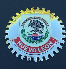 NUEVO LEON MEXICO CAR GRILLE BADGE - EMBLEM MERCEDES FORD VW GMC CHEVY BMW