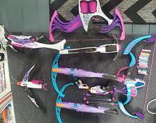 Nerf Rebelle Lot Inc Arrow Revolution, Flipside Bow, Guardian Crossbow, phoenix
