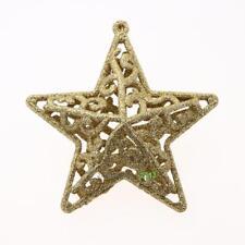 Christmas Tree Decor Glitter 3D Hollow Star Glitter Party Home Pendant Ornament
