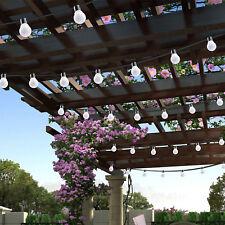 10 LED Globe Ball String Fairy Lights Bulb Outdoor Lighting Patio Party Decor