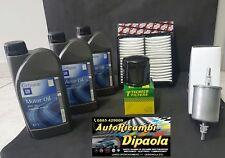 KIT TAGLIANDO DAEWOO MATIZ 0.8 38 KW 52 CV 1.0 47 KW 64 CV 3L 10W40 GM+ 3 FILTRI