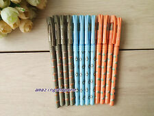 12 Pcs M&G 0.5mm Cute animals style Ball point Pen,blue ink,66203